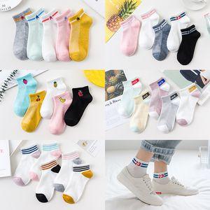 Мульти цвета носки Unisex Носки спорта Короткие носки хлопковые носки Спорт Футбол Болельщицы взрослых Короткие Носок