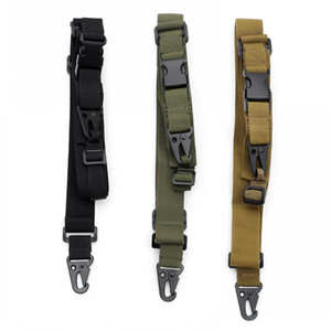 Tactical Gun Sling 3 Point Bungee Airsoft Rifle Strapping Belt Military Shooting Hunting Accessories Three Point Gun Strap
