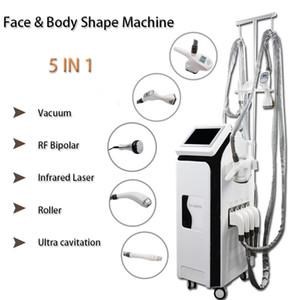 2021 Nova Forma LPG Body Slimming Machine Cavitação RF Rolos de Vácuo Massagem Sistema Vela Forma Forma Máquina Laser