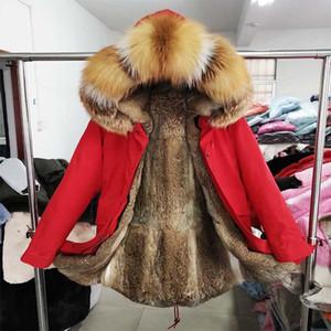 2020 Новая мужская зимняя волевая одежда Классическая куртка Real Fur воротник с капюшоном Parka зимняя мужская вагона высокое качество