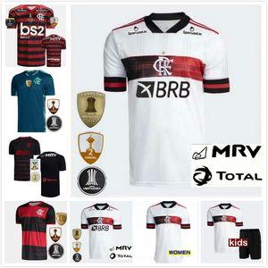 Mann Kinder 20 21 Flamengo Fußball Jersey Guerrero Diego Henrique Gabriel Sports Kits 2020 2021 Flamenco Football Flamengo Cr Camiseta de Futbol