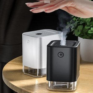 45ml Smart rechargeable Aerosol Sterilizer, Automatic Induction Soap Spray Bottle Non-contact Alcohol Disinfection Humidifier