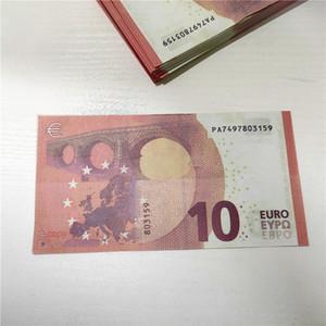 Prop bar moeda de 10 euros brinquedo jogo prop filhos adultos prop jogo especial filme dólar euro fase libra dinheiro 03