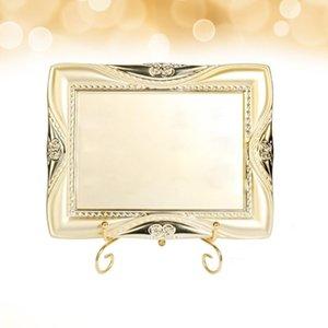 1 pc Beauty Eyelash Display Placa delicada Eyelash Protetor de exibição de exposição de metal Suporte de metal robusto ext