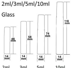 2ml L 5ml 10ml Plastic glass Perfume Bottle, Empty Refilable Spray Bottle, Small Parfume Atomizer, Per bbyfdy ladyshome