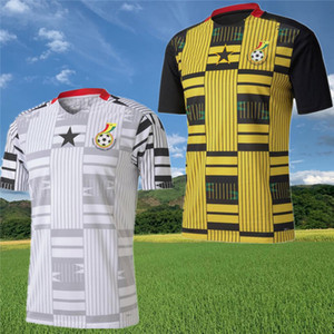 Ghana Thomas National Team Jerseys Soccer Jerseys 2020 21 Schlupp Kudus J.Ayew Caleb Ekuban Samuel Owusu Casa Away Camicia da calcio