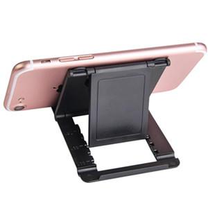 Titulaire de téléphone Support Stand de support téléphonique mobile pour accessoires Porte-bureau pliable en plastique pliable