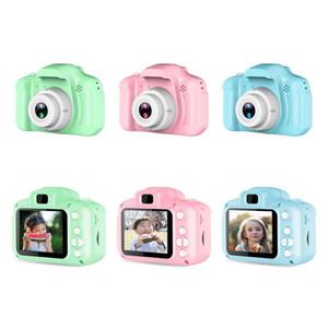 2 inç HD 1080 P Chargable Dijital Mini Çocuklar Kamera Karikatür Sevimli Kamera Oyuncaklar Açık Fotoğraf Sahne Çocuk Doğum Günü Hediyesi Için