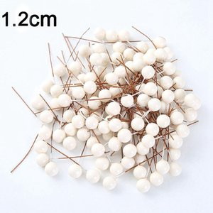 50pcs Lot Plastic Pearl Stamen Artificial Flowers For Wedding Home Decoration Diy Craft Gift Cake Wreath Fake Flower Accessories H jllDPS