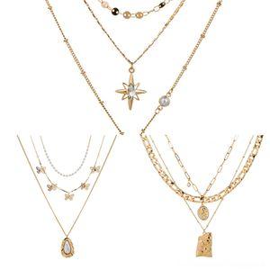 Pxm2s Constellations Münze Anhänger mit Halskette Statement Zeichen Zodiac Kupfer-Ketten-Charme Halskette Frauen Zwölf Horoskop Schmuck Stash Anhänger L
