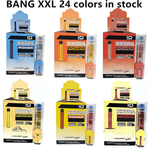 Bang XXL Dispositivo de Vaes Dispositivos de Caneta 800mAh Batterys 6ml PODs Vazes Vazes 2000 Puffs Suff XXTRA Kit vs Puff Bang XL Xtra