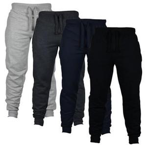 Los pantalones pantalón casual ENUKI 2020 otoño nuevos hombres del sólido Calle Pantalones de los hombres de gran tamaño Joggers marca de alta calidad de los hombres de
