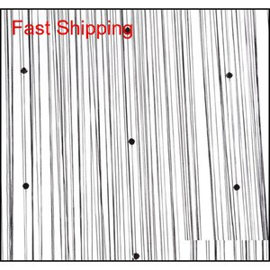 25tassel Curtain Crystal Beads Tassel Silk String Curtain Window Valance Door Divider Sheer jllWFc bdebag