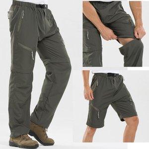 Pantalones de senderismo desmontable rápido Seco Hombres Deporte al aire libre Verano Camping Pantalones de escalada Pantalones de pesca transpirables1
