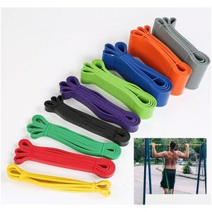 fitness rubber bands resistance band unisex 208 cm yoga athletic elastic bands loop expander for exercise sports equipment