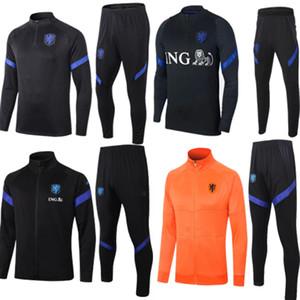 NUOVO 2020 2021 adulto tuta maglia olandese di calcio DE JONG Olanda DE Ligt van Dijk VIRGIL maglie tuta Strootman di calcio