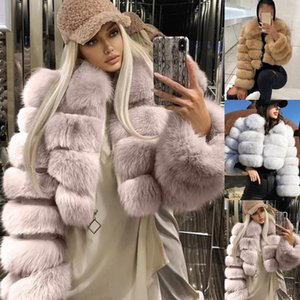 Natural Real Fur CoatWomen Winter natural fur Vest Jacket Fashion silm Outwear Real Vest Coat warm coat1