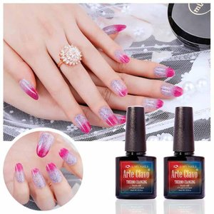 10ml Arte Clavo Choose 1 Color From 48 Colors Temperature Change Color Gel Nail Art On Sale Gel Polish For Nails UV Led Lamp