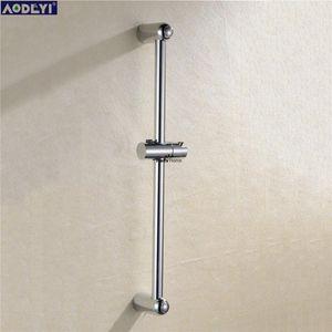 Aodeyi Abs en acier inoxydable design Chrome barre coulissante salle de bains douche bar douche salle de bains support de la tête en acier inoxydable Bar yxlNLQ