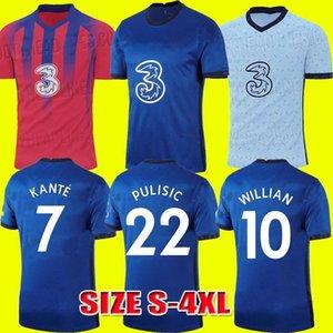 20 21 CFC KANTE WERNER ZIYECH LAMPARD ODOI JORGINHO PULISIC Home away soccer jersey 2020 2021 GIROUD WILLAN football shirt