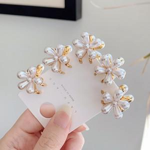 Elegant Women Hair Clip Claw Pearl Headwear Fashion Hairpin Headdress Girls Hairclips Wedding Hair Accessories