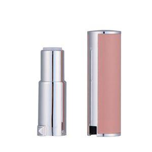 12.1mm empty plastic round shaped Lipstick case lambskin type Lip Balm Tube Empty Plastic Lip OWA1918