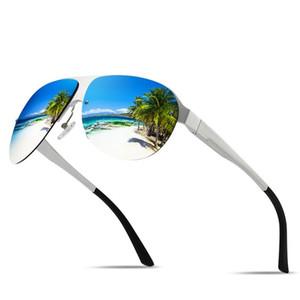 Европейская и американская мода Новый алюминиевый магниевый сплав мужские поляризованные солнцезащитные очки вождение езда спортивные очки солнцезащитные очки1365