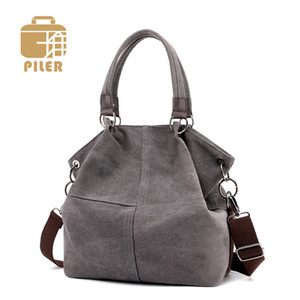 Ladies Hand Casual Canvas Messenger Shoulder Bag Women Female Bags Handbag Bolsa Feminina Bolsos Mujer Q1107