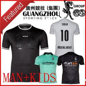 120th Anniversary 20 21 Mönchengladbach Socker Soccer Jerseys Kids Gladbach 2020 21 Monchengladbach Zakaria Black Borussia Football Commet