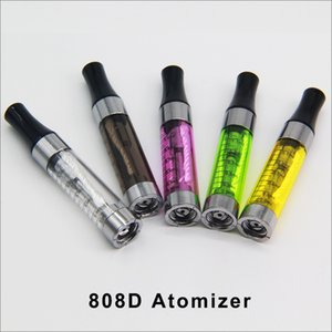 808D Atomizer E-smart clearomizer 808d Threading e cigarette e-smart e cig 808D cartomizer iand 510 clearomizer for CE4 ego EVOD battery