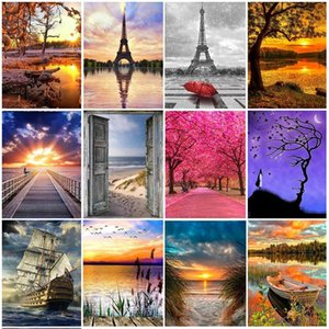 5D Landscape Animals Diamond Embroidery needlework diy Diamond painting Cross Stitch Kits full round diamond mosaic Room Decor