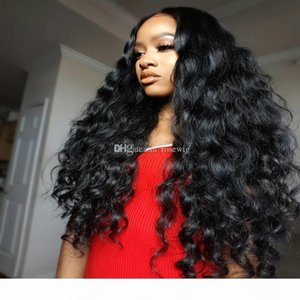 Pre Plucked Lace Front Wigs With Baby Hair Loose Wave Full Lace Human Hair Wigs For Black Women Brazilian Virgin Hair Wig