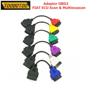Diagnoctic Cable For ECU Single Wire 6 Colors Adapters Cable For MultiECUScan ECU OBD2 Connector Free shipping