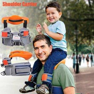 Outdoor Travel Children Tool Hands Free Shoulder Carrier Hip Seat Travel Child Strap Rider Back Frame Infant Saddle