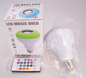 Smart broadcast bluetooth bulb RGBCW colorful music color change multi-phone control led bulb light group control