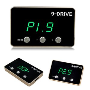 Contrôleur d'accélérateur électronique de voiture 9 Disques 5 modes Plug and Play Portable Pedal Booster Accélérateur d'accélérateur électronique