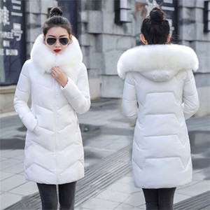 New Parka Womens Winter Coats Womans Plus size 7XL Long Cotton Casual Fur Hooded Jackets Warm Parkas Female Overcoat Coat Y201001
