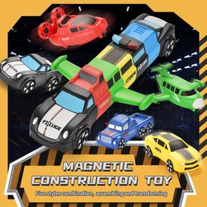 DIY-Puzzles Magnetische Rätsel für Kindervielfalt der Magnetmontage Spielzeug 5-in-1 kombinierte Version TW2011018