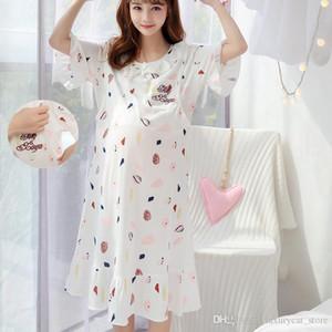 2020 New Pregnant Women Breastfeeding Pajamas Room Wear Pajamas Mother Pajamas Nursing Pregnant Women Dress