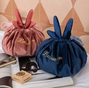 Toiletrie Bag Antler Lazy Makeup Bags Woman Portable Drawstring Storage Bag Travel Household Items Organization OOD4224