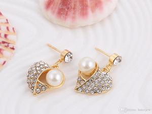 Party Ensemble de bijoux bon marché bijoux en or Diamante mariée Ensemble collier et boucles d'oreilles de demoiselle d'honneur Bijoux