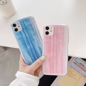 Neue Case Shell Cover Creative Mask Handy Case für iPhone11 PRO MAX 7 8 PLUS X XR XS MAX SE TPU Handy Shell Cover