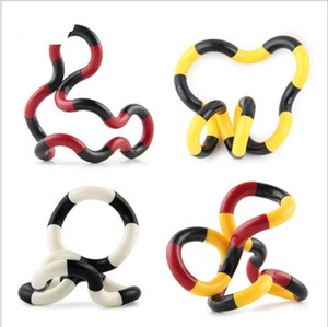 Fidget Fiddle Adult Anti Stress Hand Sensory Decompression Twisted Winding Toys Finger for Kids Autism Dexterity Training Tangle FY9378