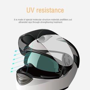 Evrensel Motosiklet Yağmur Geçirmez Anti-Sis Yama Visor Lens Film Evrensel Kask Filmi Anti-Yağ Çizilmeye Dayanıklı Aksesuarlar1