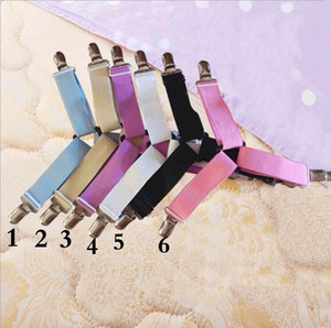 Bed -Sheet Clips 4 Pcs Adjustable Triangle Anti-slip Button Mattress Fastener Holder Grippers Multi-specification Bedding Sets AHC3233