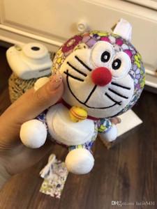 Japan Murakami Takashi sunflower Doraemon Mobile Power bank 6800mah Doll outdoor rechargeble treasure mobile phone Pendant for girl