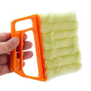 Microfibre utile Fenêtre Nettoyage Brosse Climatiseur Duster Duster Nettoyant avec lavable Venetian Blind Tools Nettoyant Nettoyant HWF4139