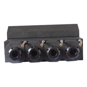Housing integrated shaft gear power head Brass material Gear drive Coupling connection Center height 36MM ER25-4Z-C60