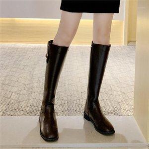 Cootelili зимние женские сапоги патентная кожа 3см каблука держать теплые моды моды для женщин женская обувь базовые ботас 35-401
