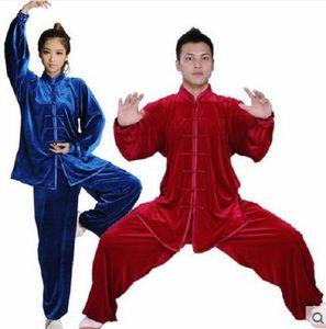 Tai Chi Winter Uniforms TaiJi Warm Clothes Kung Fu Uniforms